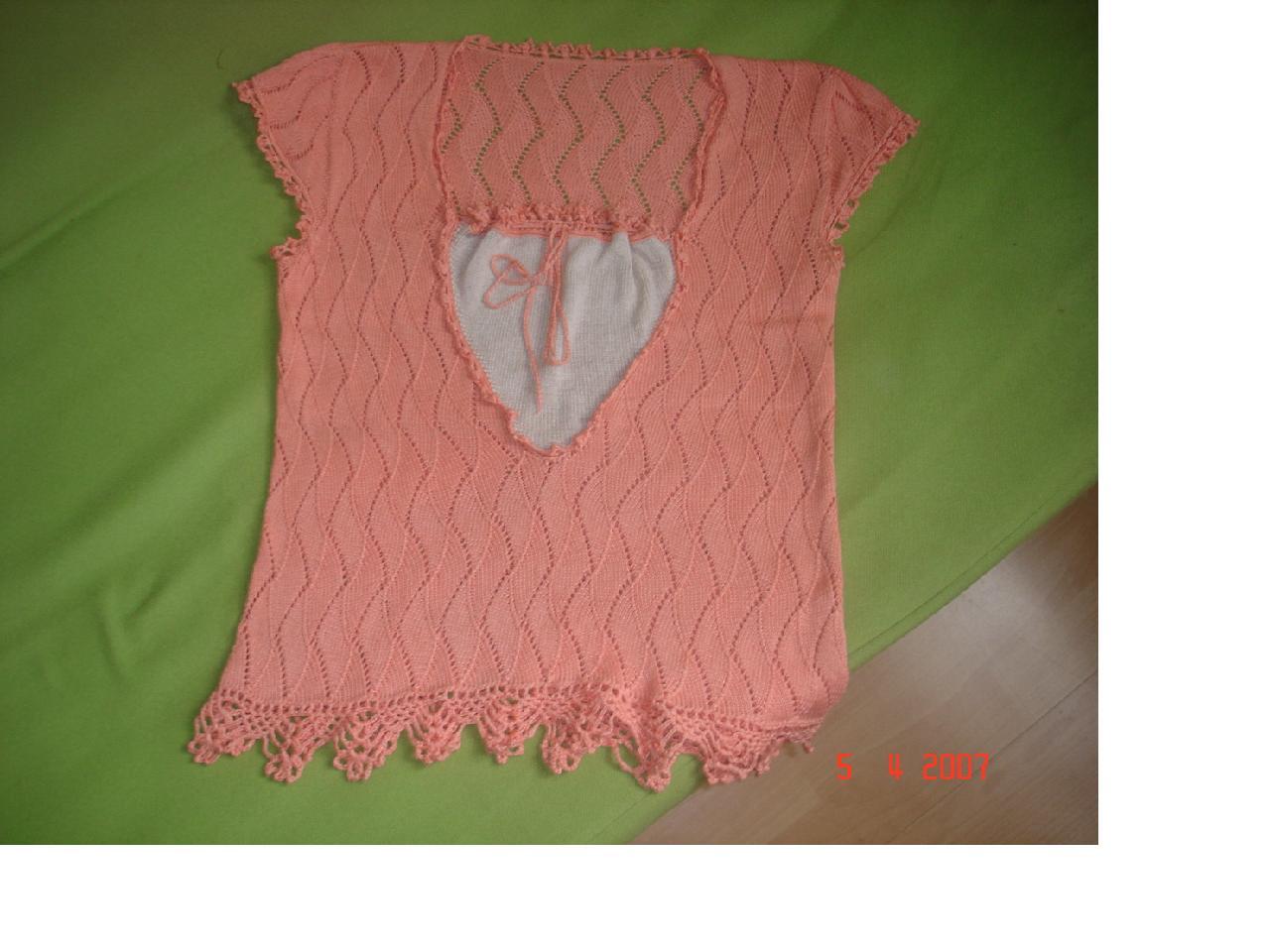 我的原创棉线背心