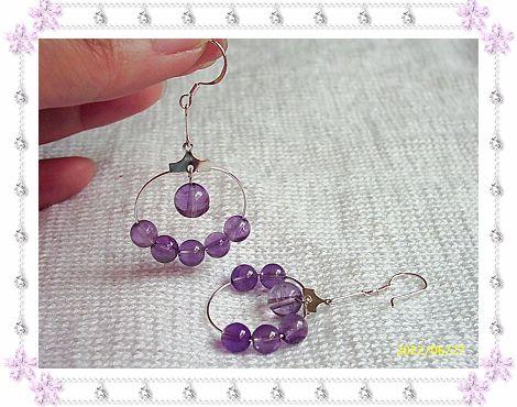 925银钩+紫晶32.00元