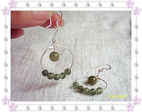 925银钩+绿发晶38.00元