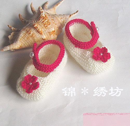 婴儿袜子编织图纸