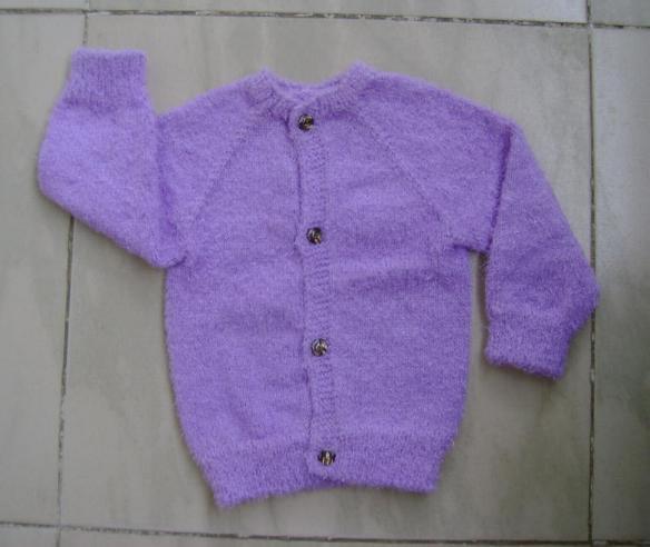2件BB衫,跟妈妈学织的