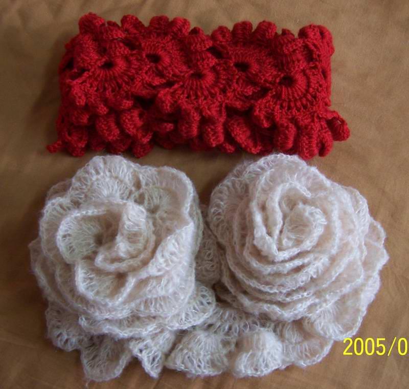 跟风仿的两条围巾,马毛那条用线60克,长1.7米