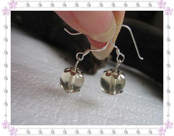 925银耳钩+天然黄水晶,10.00元