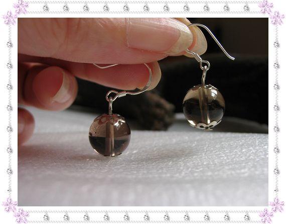 925银耳钩+天然茶晶10.00元