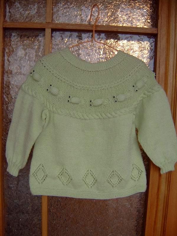近期的几件作品(宝宝帽子,背心,金鱼衣)-编织人生论坛