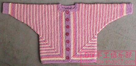 4-2-2是怎么加针的 从上往下织毛衣身子加针怎么加