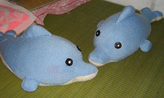 [作品展示] 我织的玩偶(海豚、小猴、KITTY猫……海豚图解在第2页) - yn595959 - yn595959 彦妮