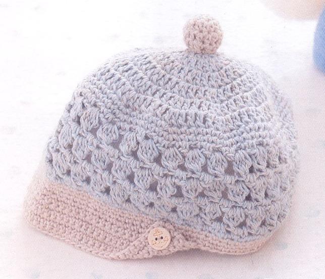 寶寶帽子編織花樣圖解