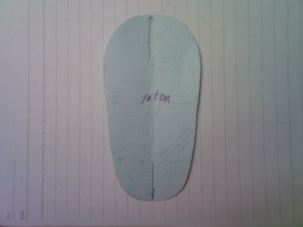 手工diy俱乐部 69 服装设计与裁剪 69 婴儿软底鞋(真人秀加纸样)