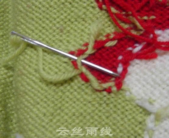 毛衣线头怎么接线