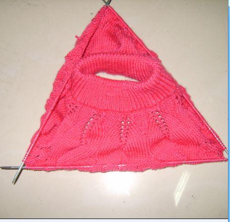 婴儿开衫毛衣织法图解 婴儿开衫毛衣编织图解图片