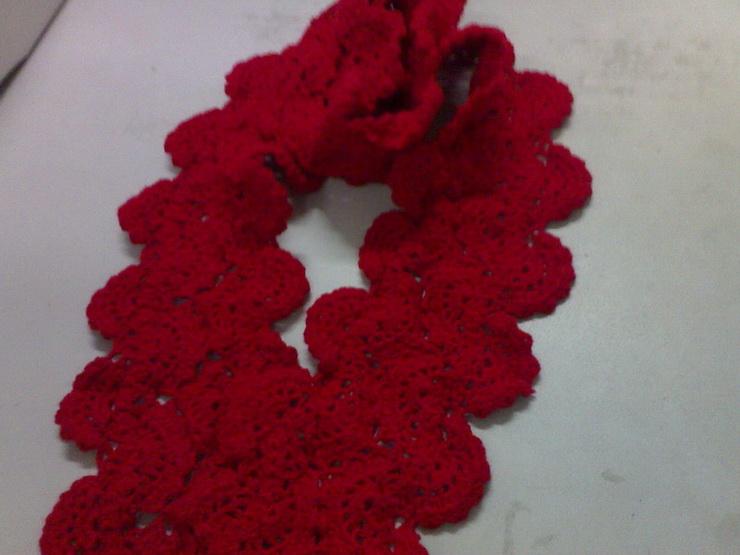 围巾的钩针