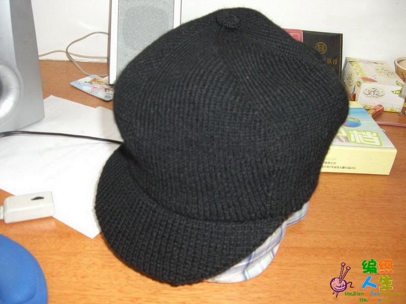 叠翠 我仿钩的帽子 叶子 熊猫 帽子 片织 毛巾线 儿童毛衣 冬天漂亮的