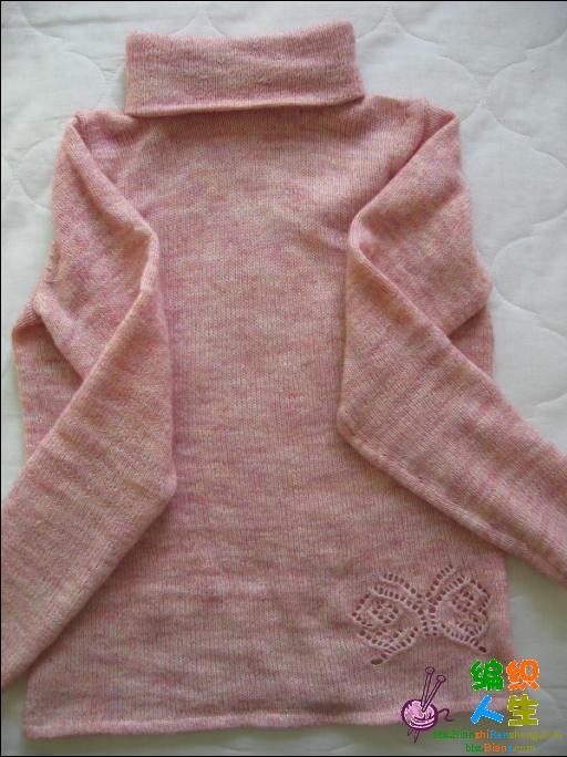 流行的彩丝线织的,7两织了两件,两用领。