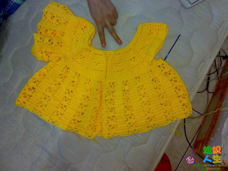 荡漾 粉黄宝宝衣(有过程图)新增图解在19楼