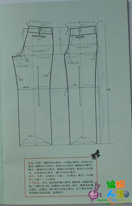 服装设计与裁剪_编织