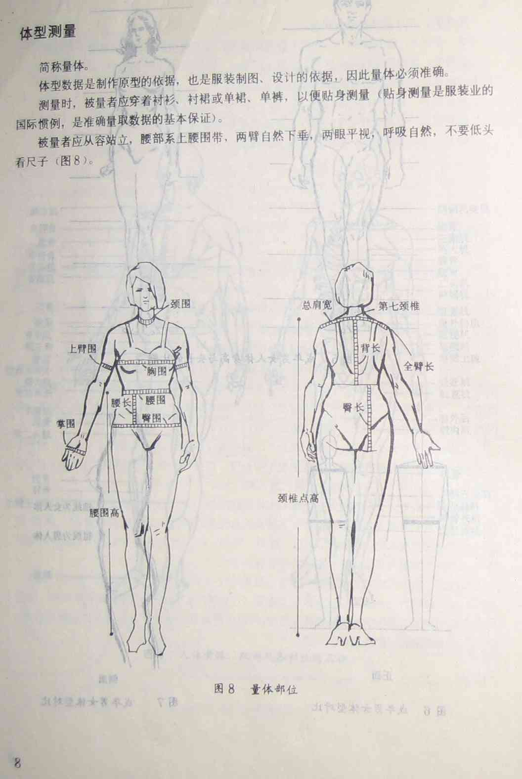 专题 各部位尺寸       zqch0316 版块:[服装设计与裁剪]体型测量  48