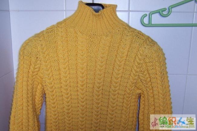毛衣看起来花样不复杂,但是全身都是扭麻花,扭死我了,现在看到扭麻花就想吐