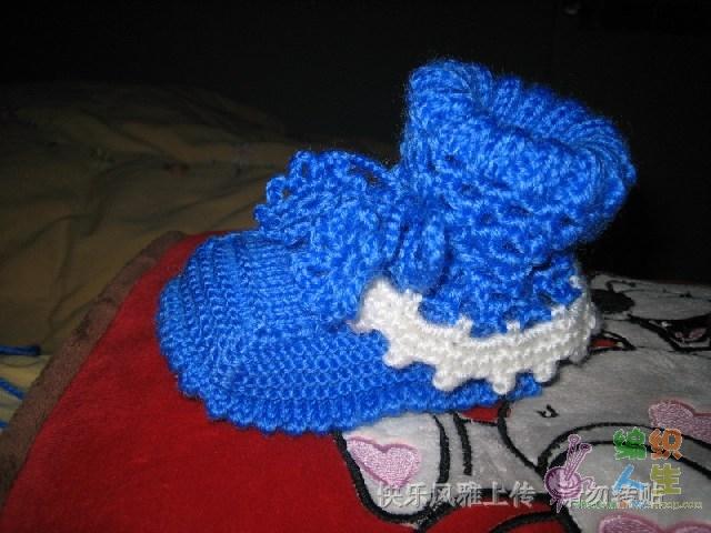 怎么织宝宝鞋