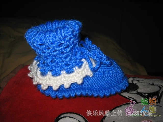 钩织结合宝宝鞋