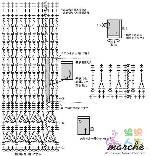 [其他] 手套手套(上图解) - yn595959 - yn595959 彦妮