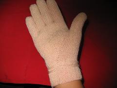 手套成品图的手心