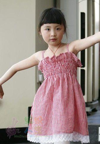 裙子的花纹简单