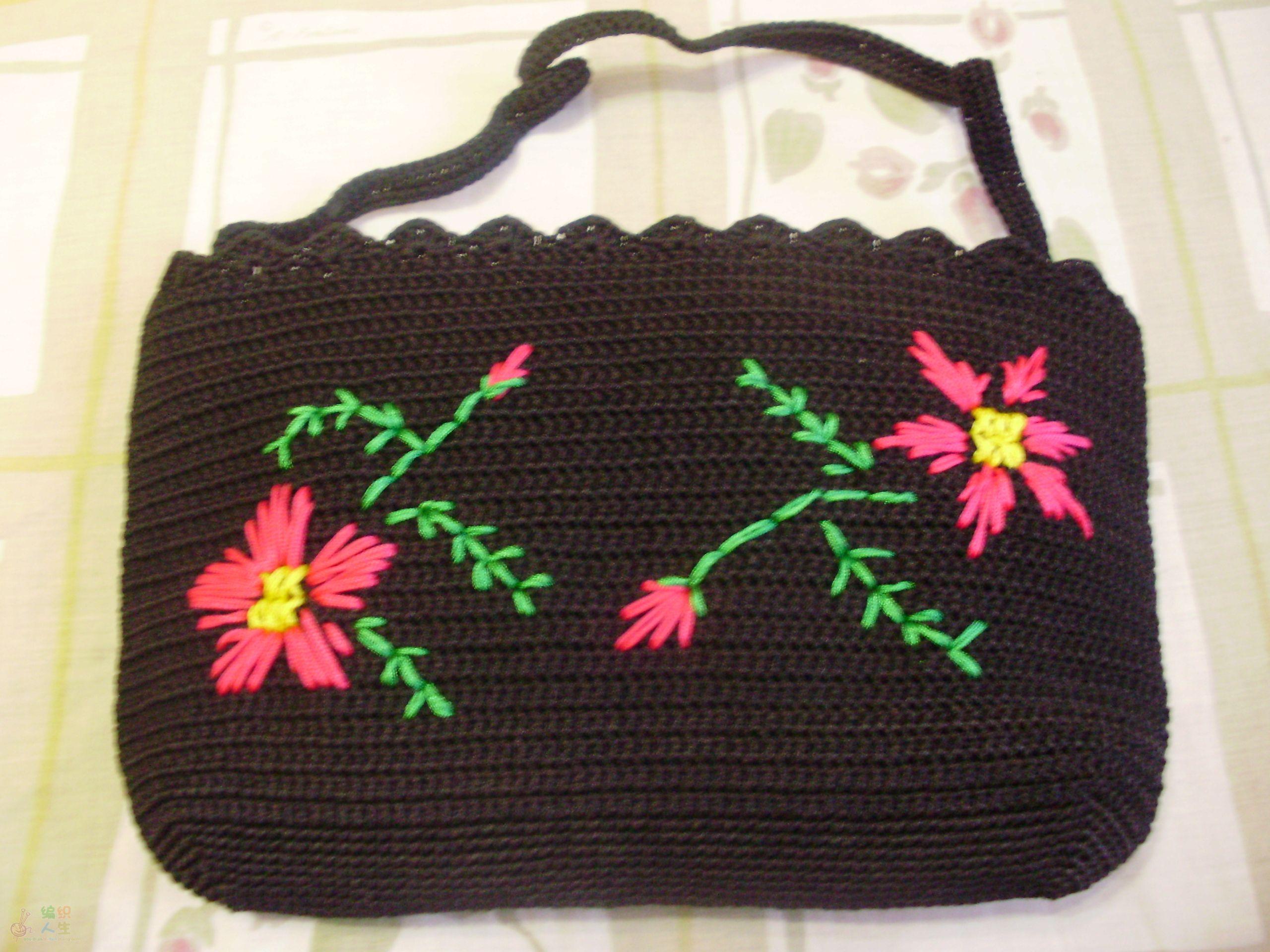 钩针编织手袋