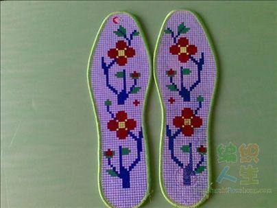 69 十字绣作品秀 69 十字绣图案大全 69 十字绣鞋垫图(多张)