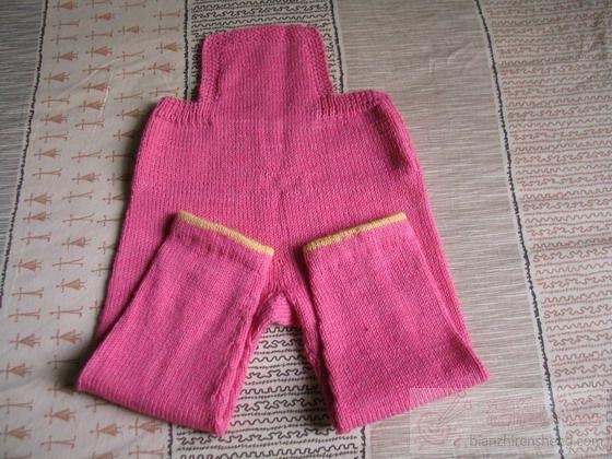 小女孩的背带裤_编织人生论坛