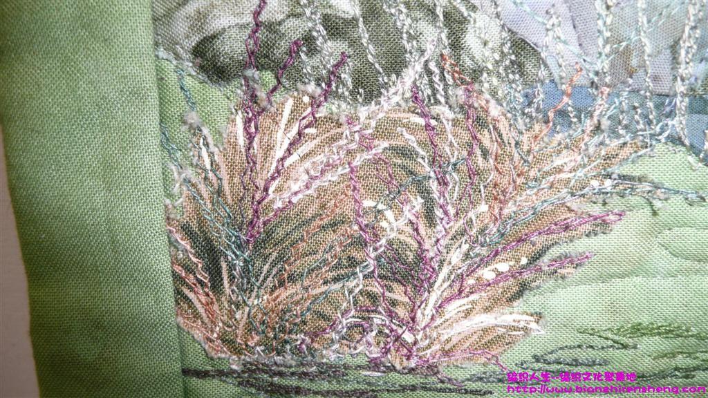 图案欣赏 美丽的拼布风景壁画 基督城(新西兰)拼布展获奖作品