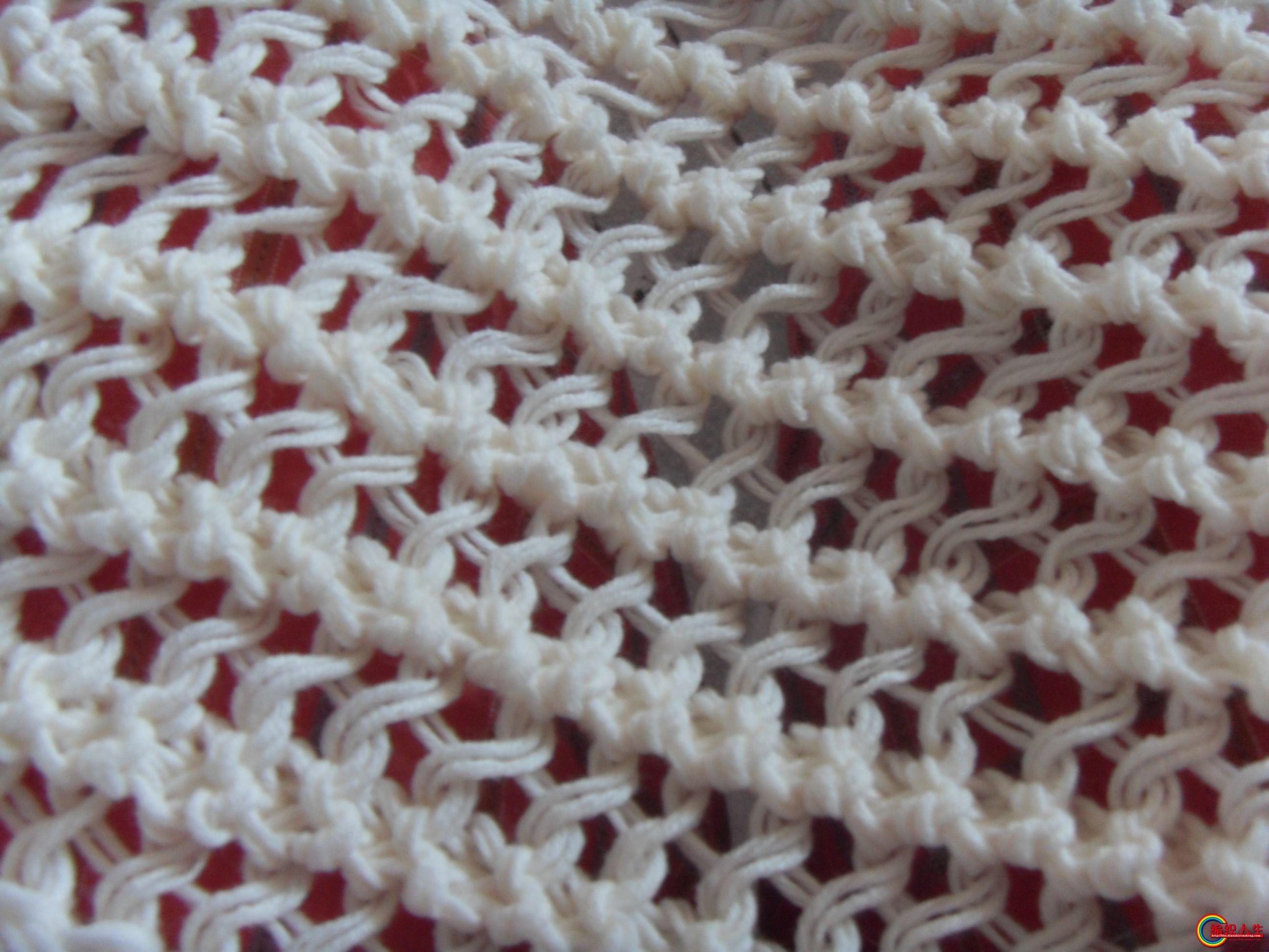 鱼骨针围巾和大南瓜靠垫