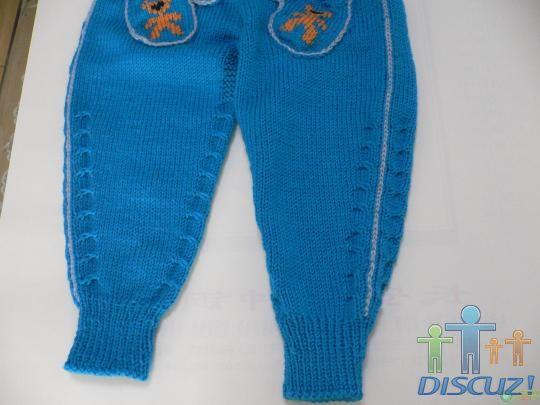 [实例教程] 漂亮实用的小毛裤---杯中水131 - 马马虎虎 - 编织网手工博客