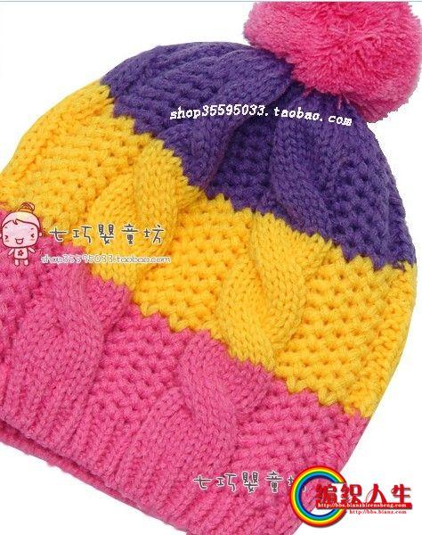 编织人生怎样织帽子_这款帽子怎么织,麻花劲中间是什么针啊_编织人生论坛