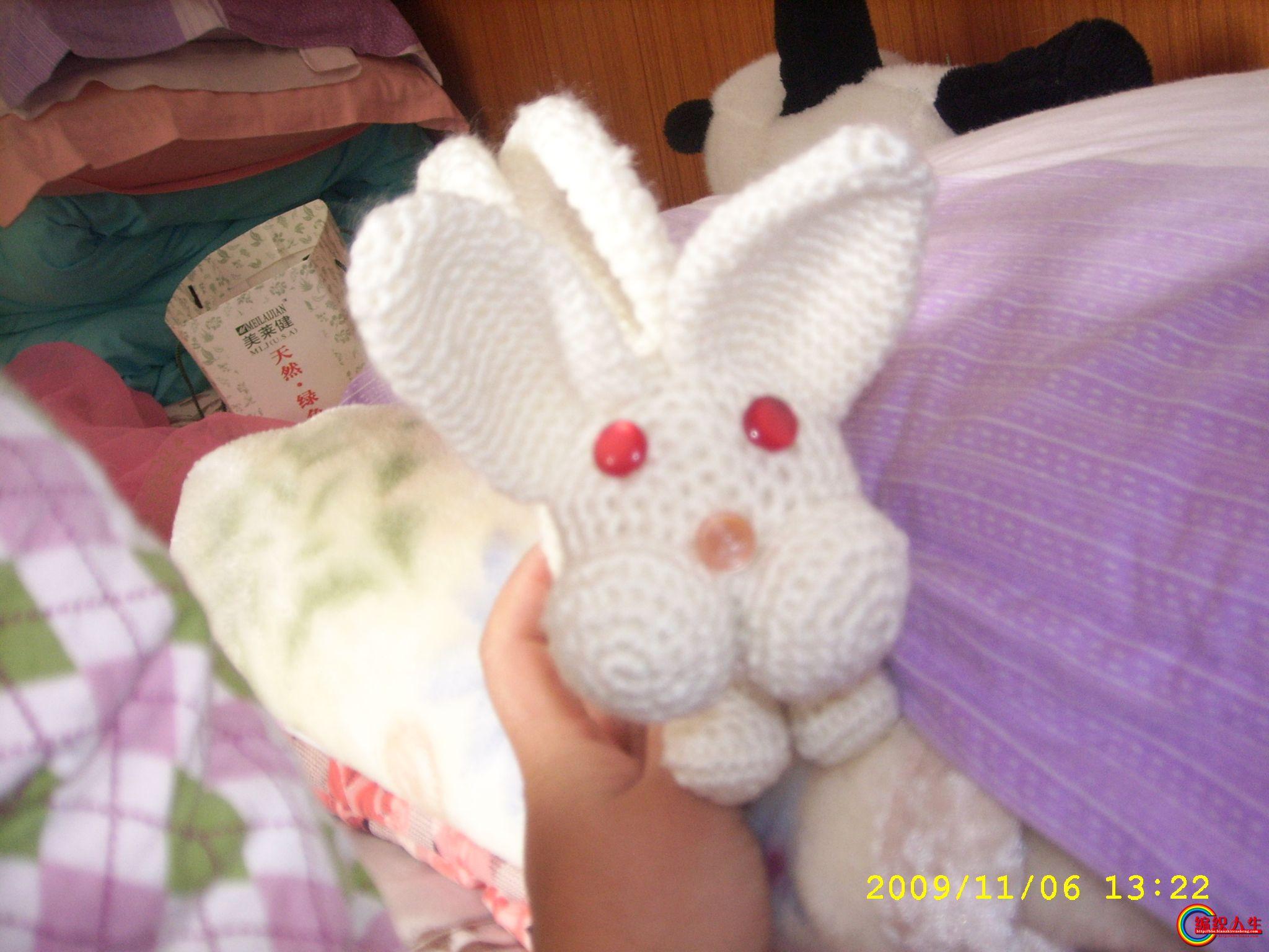 大家看看我钩的小兔子包包_2005-2010年归档_编织人生