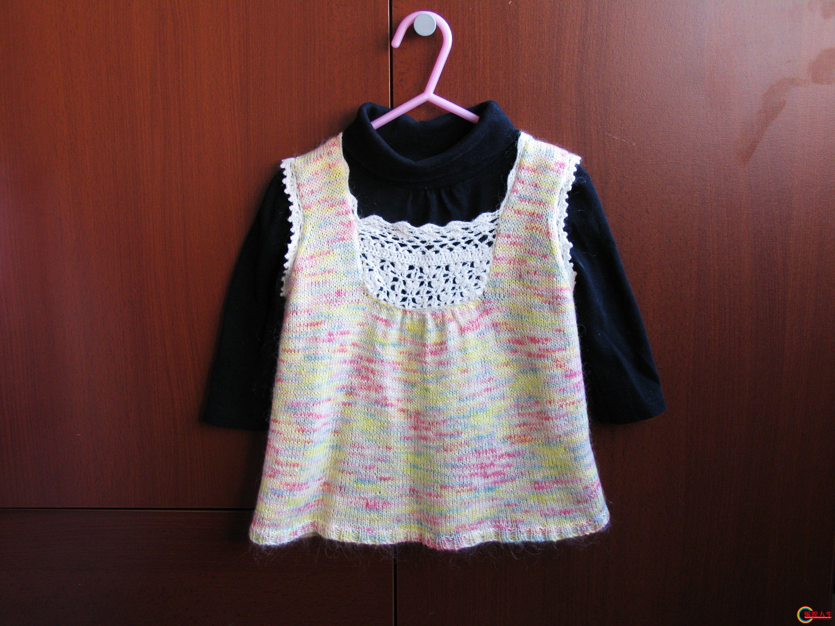 专题 裙式背心图解       pinkbubble 版块:[儿童毛衣(棒针)] 本帖