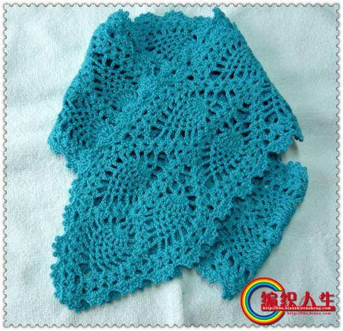 钩针刚仿的围巾花毛线,用的山羊绒情趣3两,合3股,2.5的菠萝.主题这是民宿广州图片