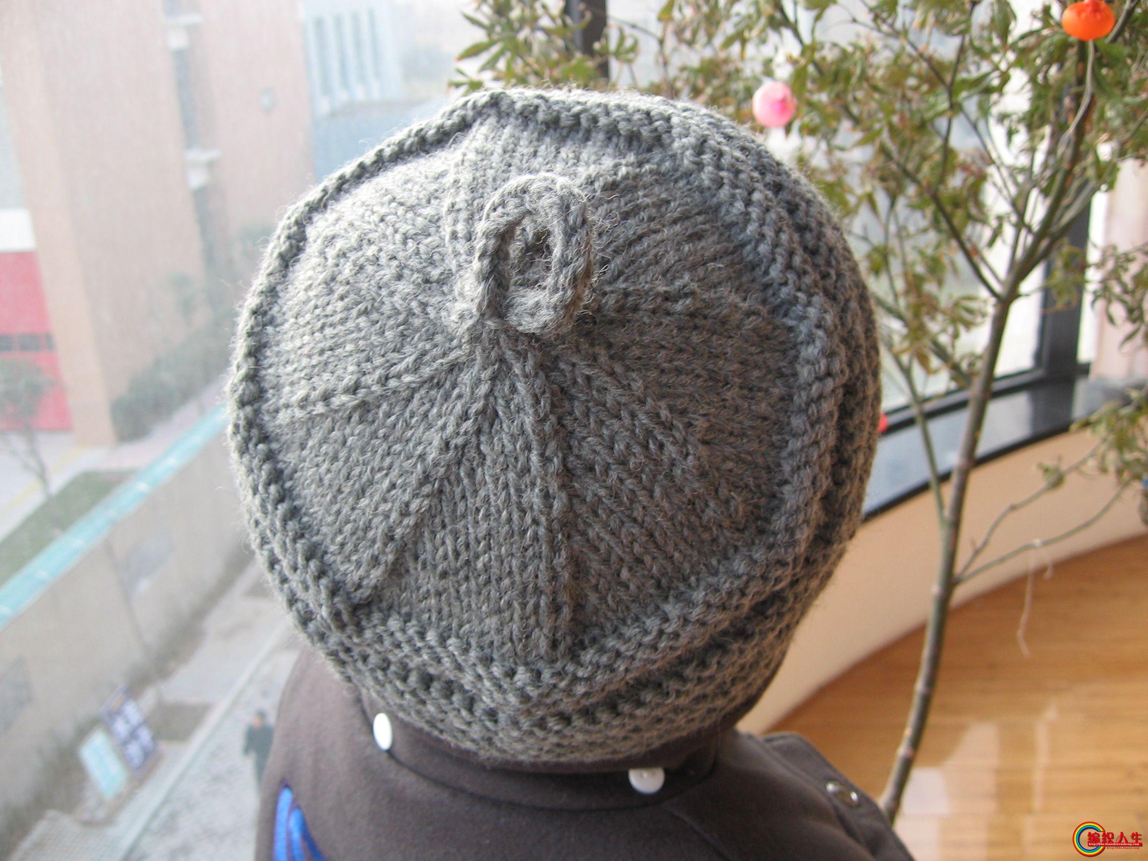 中老年帽子编织