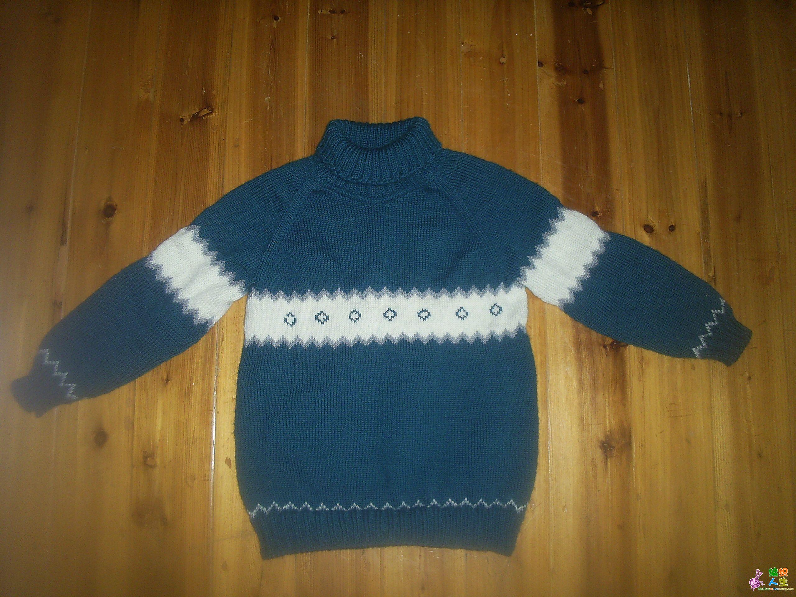 从上往下织毛衣放针