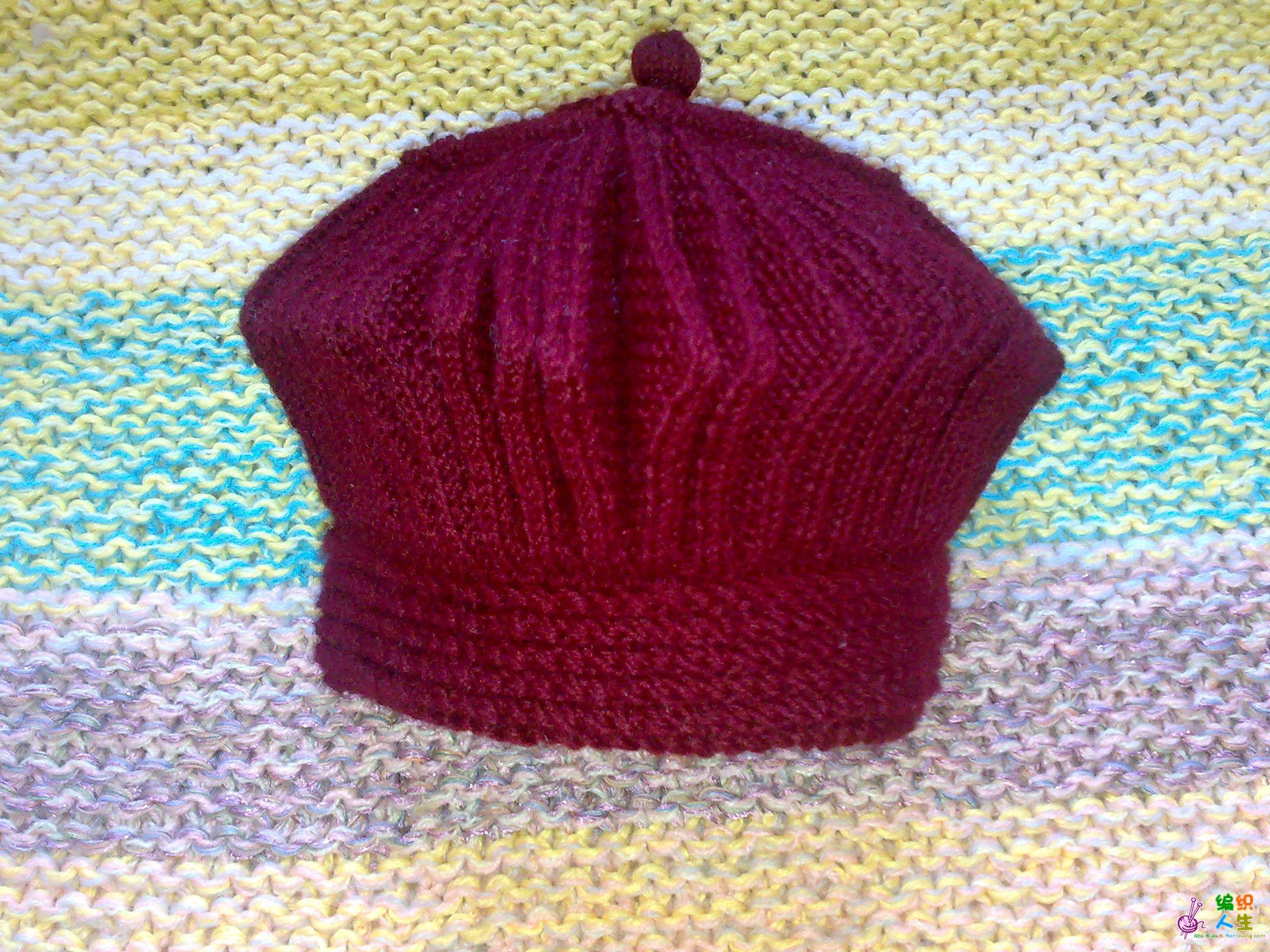编织人生怎样织帽子_给婆婆织的帽子_编织人生论坛