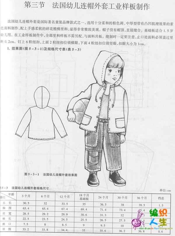 外套手绘设计图