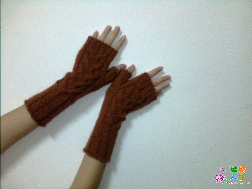 [鞋袜] 新织了一款很流行的无指手套(来看看吧!) - yn595959 - yn595959 彦妮