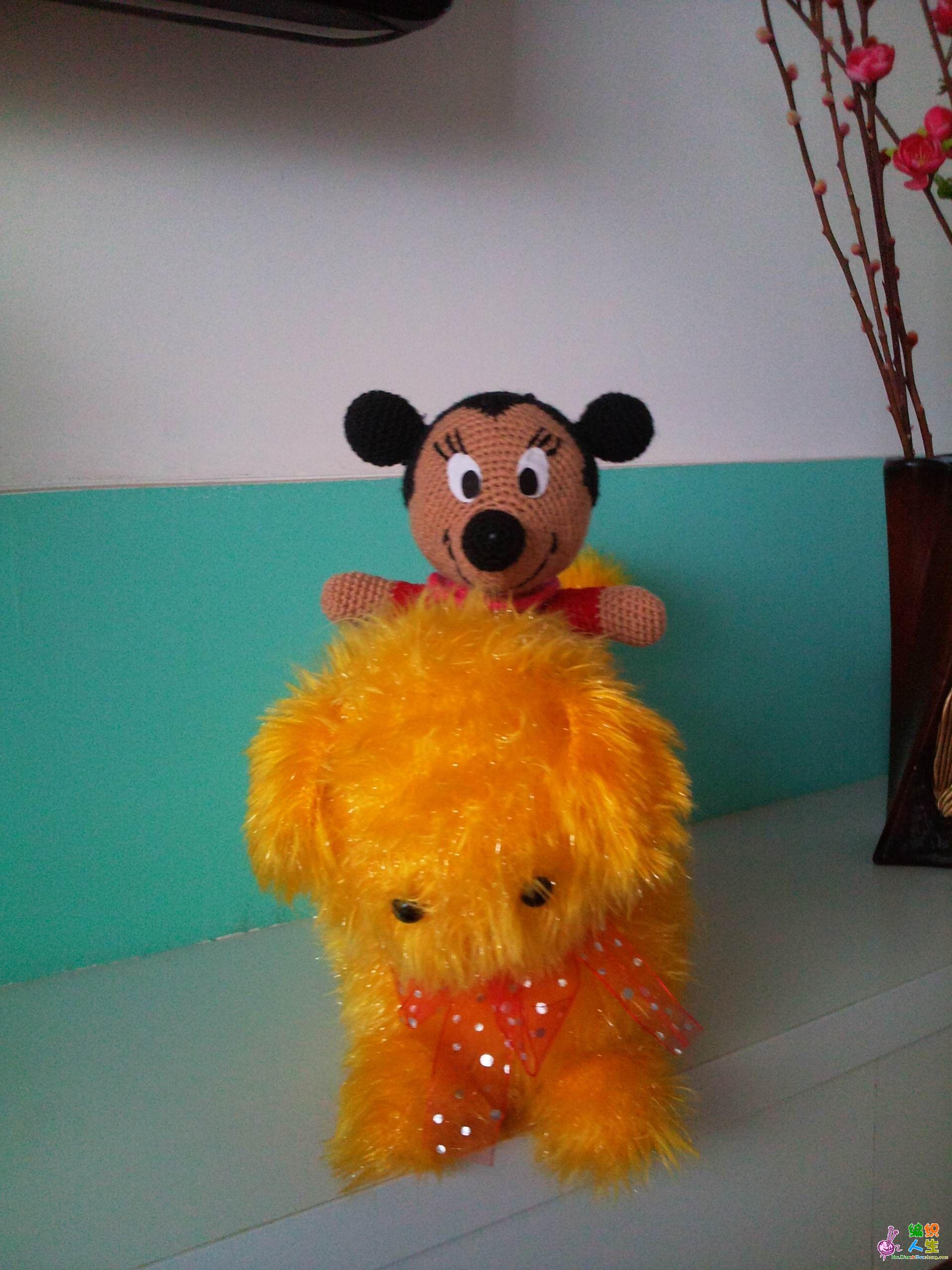 我的唐老鸭和米老鼠_编织人生论坛
