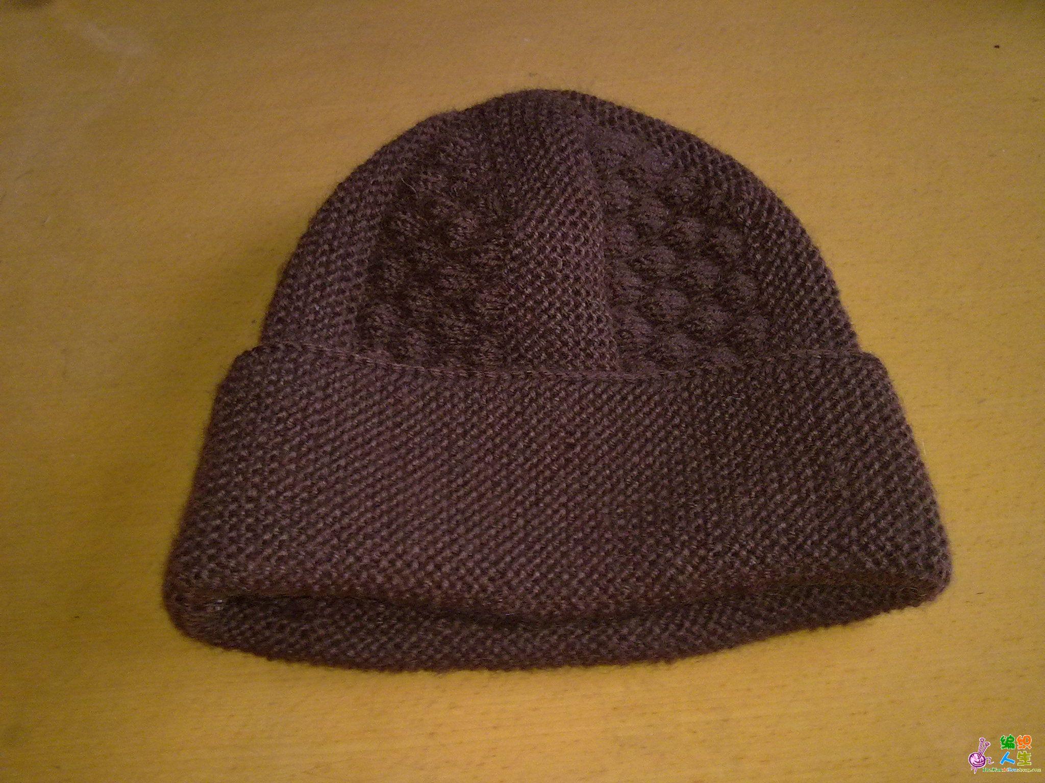 老年帽子的编织方法 图片合集
