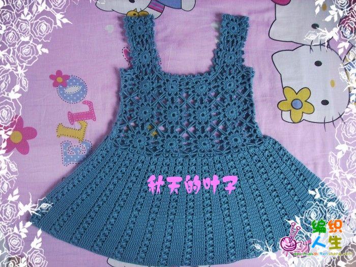 叶子手工------春之花,儿童裙