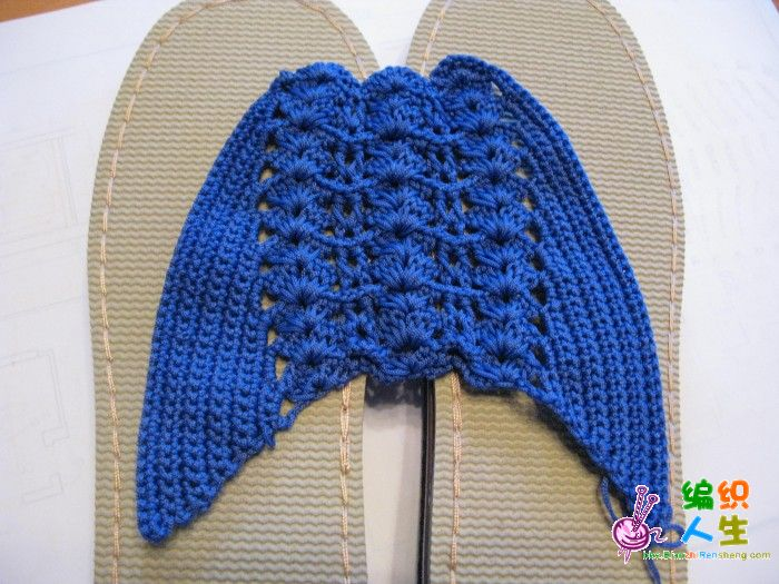 论坛 69 棒针编织作品区 69 棒针编织作品秀 69 漂亮的凉拖鞋