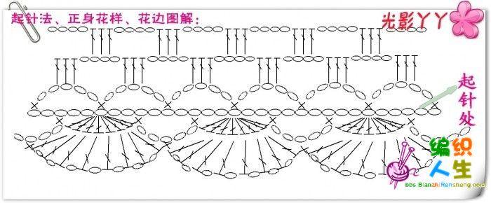 吊带伴侣----小坎肩,(俏织娘)手工.(上图解了)