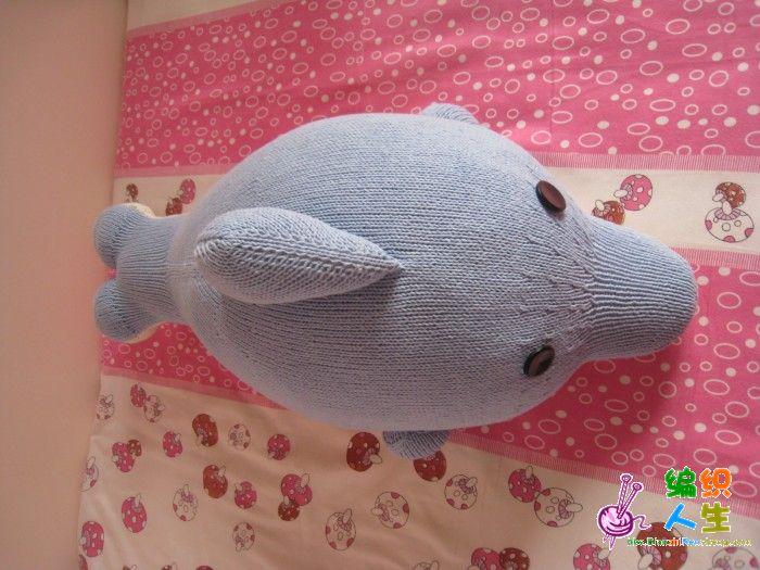 我的海豚编织进行时(8月11日增补了回答姐妹们的问题,8月13日增补姐妹