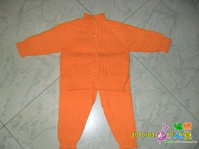 为妹妹刚出生的小宝宝织的毛衣_编织人生论坛