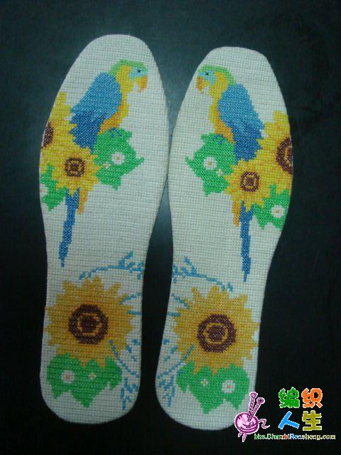 十字绣鞋垫针法_十字绣鞋垫针法设计